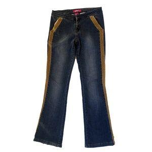 Vintage Zana Di Kick Flare Jeans Womens Sz 1 28X33